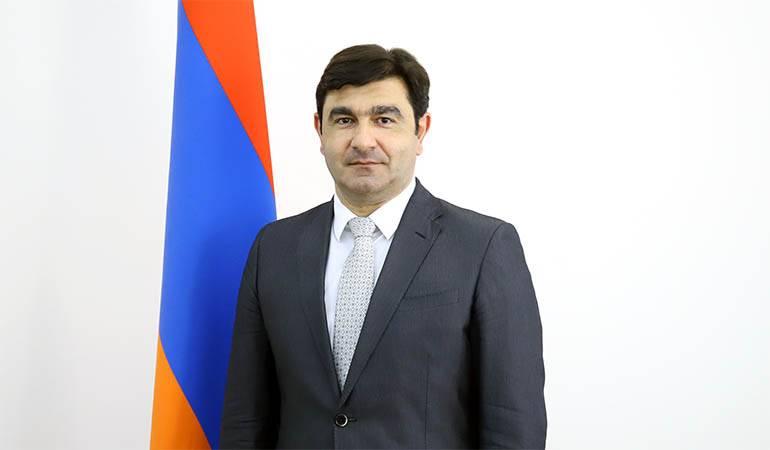 ՀՀ վարչապետի որոշումը Բորիս Սահակյանին ԱԳՆ գլխավոր քարտուղար նշանակելու մասին