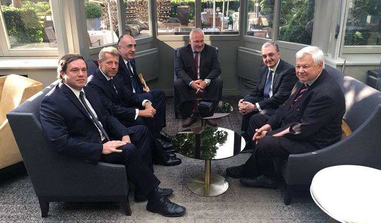 A meeting between Foreign Ministers of Armenia and Azerbaijan was held in Brussels