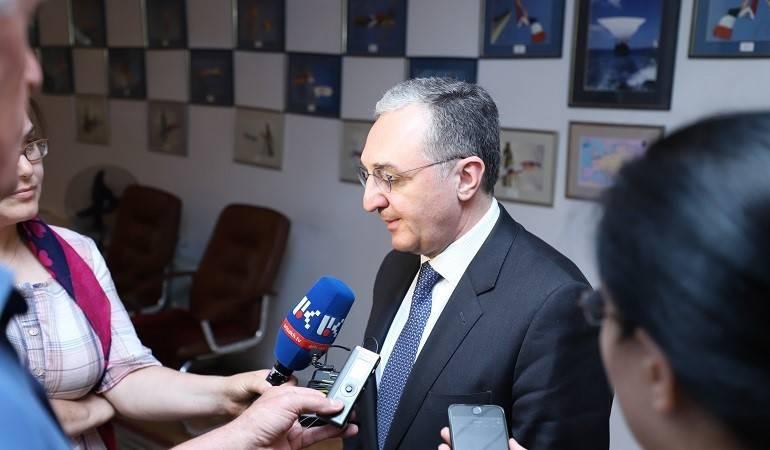 ԱԳ նախարար Զոհրաբ Մնացականյանի ճեպազրույցը Արցախի լրատվամիջոցներին